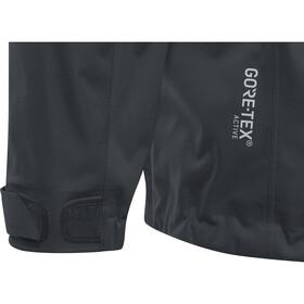 GORE RUNNING WEAR Essential GTX Active Hooded Jacket Men black